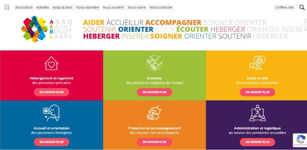 Consultant communication Nantes pour l'association Saint Benoit Labret labre