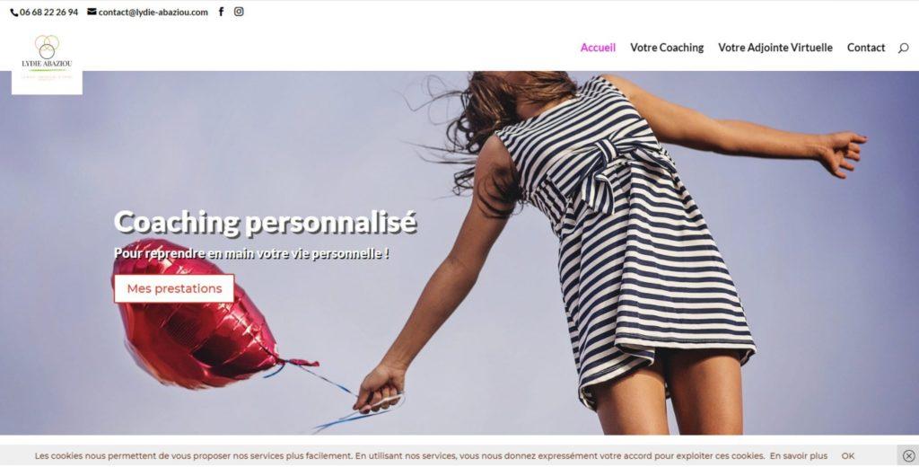 Consultant en communication Nantes et webmaster pour la coach Lydie Abaziou